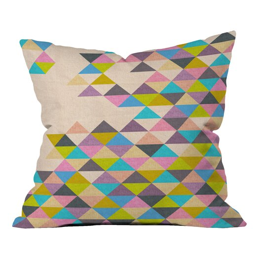 DENY Designs Bianca Green Completely Incomplete Indoor/Outdoor Throw Pillow