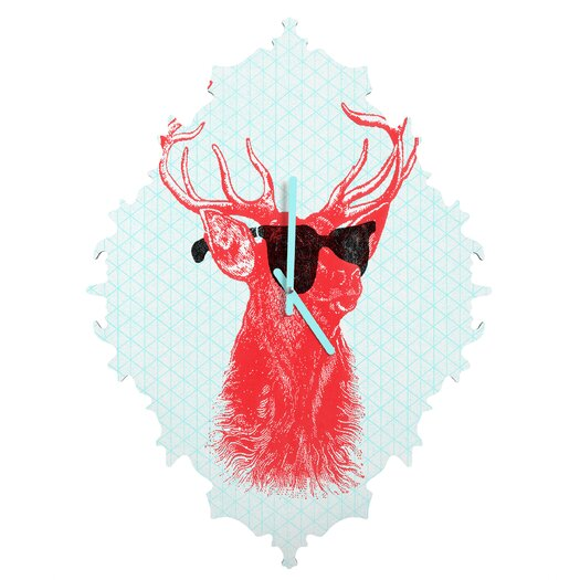 DENY Designs Nick Nelson Young Buck Wall Clock