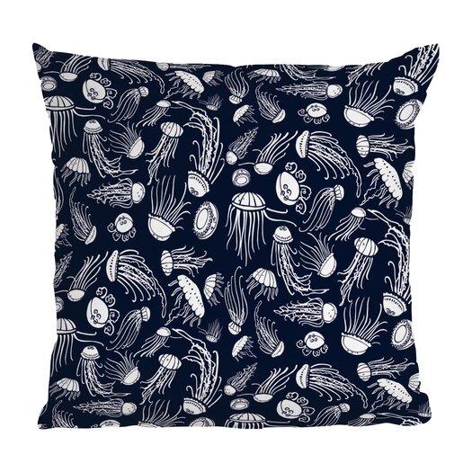 DENY Designs Jennifer Denty Jellyfish Throw Pillow