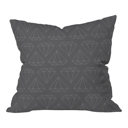 DENY Designs Wesley Bird Diamond Print Throw Pillow
