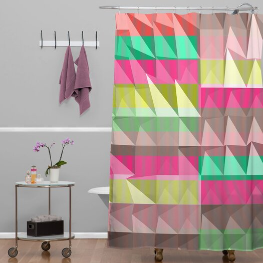 DENY Designs Jacqueline Maldonado Pyramid Scheme Shower Curtain