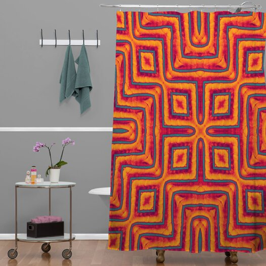 DENY Designs Wagner Campelo Sanchezia X Shower Curtain