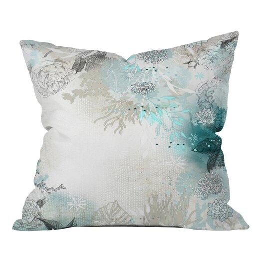 DENY Designs Iveta Abolina Seafoam Throw Pillow