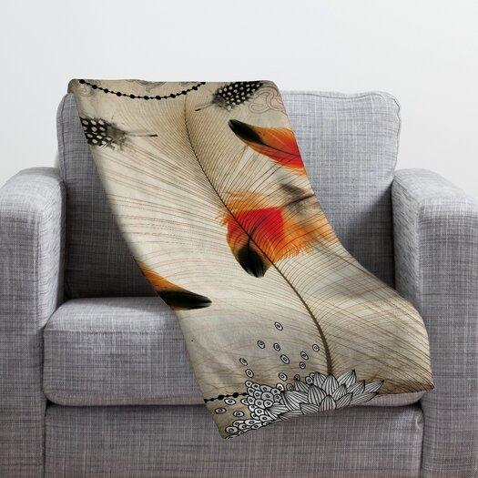DENY Designs Iveta Abolina Feather Dance Throw Blanket