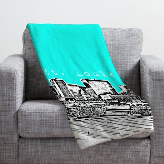 DENY Designs Bird Ave St Louis Throw Blanket