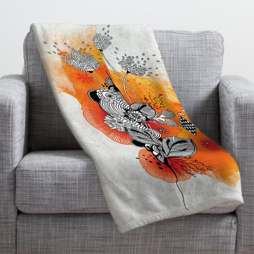 DENY Designs Iveta Abolina Forbbiden Thoughts Throw Blanket