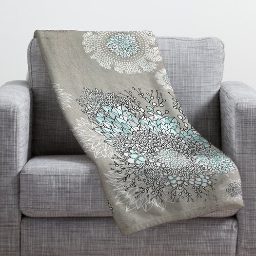DENY Designs Iveta Abolina French Blue Throw Blanket