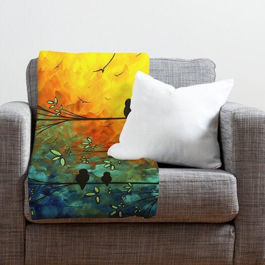 DENY Designs Madart Inc. Birds Of A Feather Throw Blanket