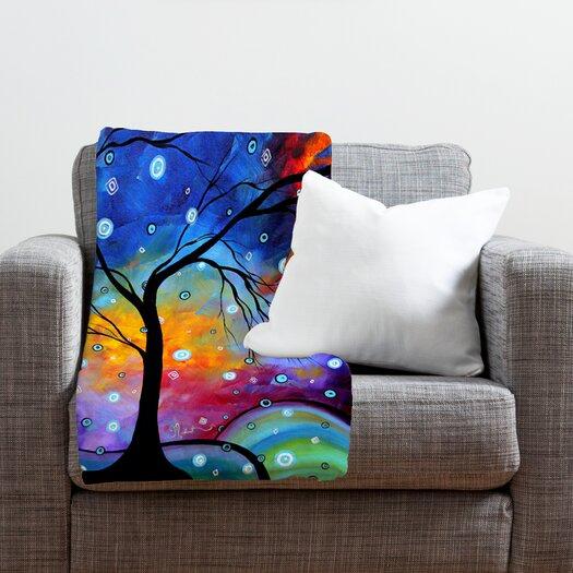 DENY Designs Madart Inc. Winter Sparkle Throw Blanket