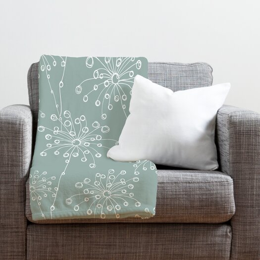 DENY Designs Rachael Taylor Quirky Motifs Throw Blanket
