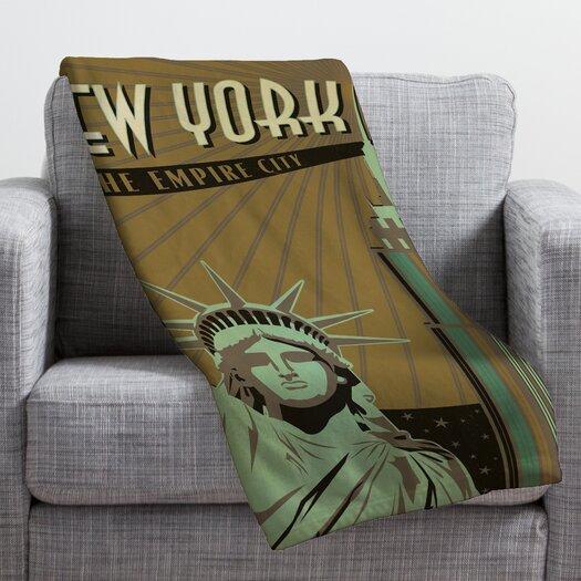 DENY Designs Anderson Design Group New York Throw Blanket