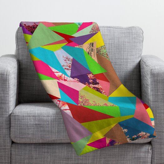 DENY Designs Bianca Green Colorful Thoughts Throw Blanket