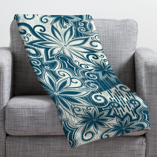 DENY Designs Khristian A Howell Moroccan Mirage 1 Throw Blanket