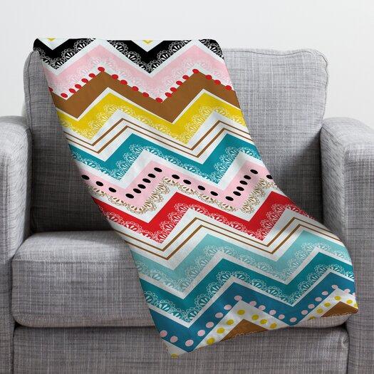 DENY Designs Khristian A Howell Nolita Chevrons Throw Blanket