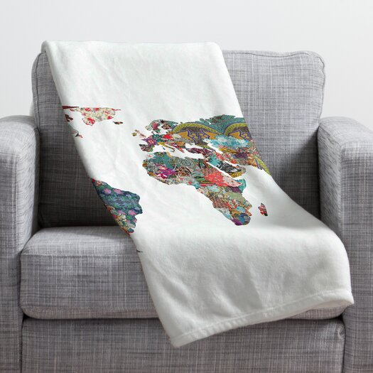 DENY Designs Bianca Green Louis Armstrong Told Us So Throw Blanket
