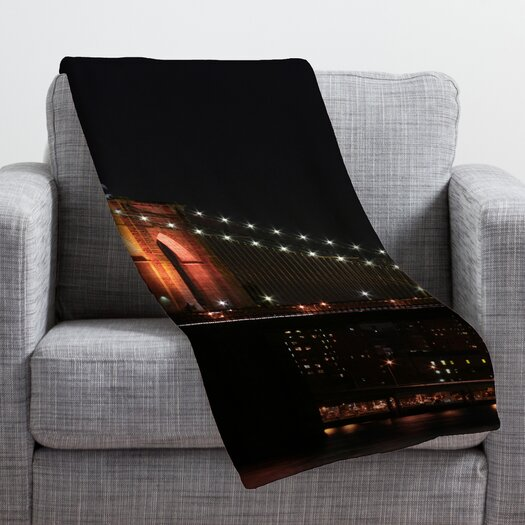 DENY Designs Leonidas Oxby Brooklyn Bridge 2 Throw Blanket
