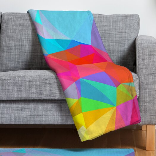 DENY Designs Three of the Possessed Crystal Crush Throw Blanket