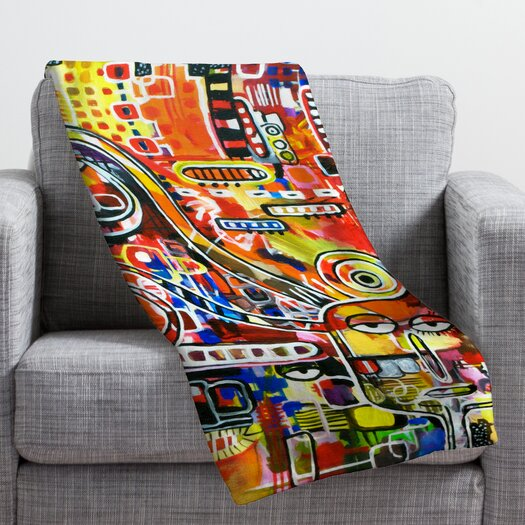 DENY Designs Robin Faye Gates It Came from Detroit Throw Blanket