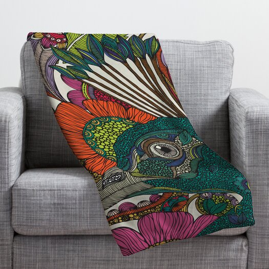 DENY Designs Valentina Ramos Alexis and The Flowers Throw Blanket