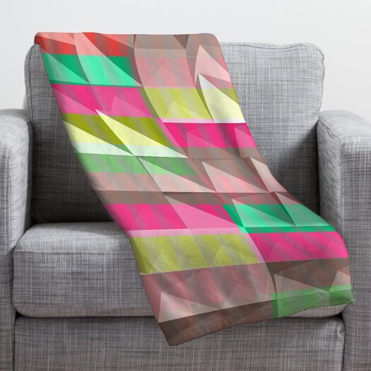 DENY Designs Jacqueline Maldonado Pyramid Scheme Throw Blanket
