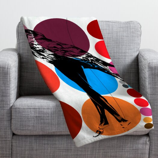 DENY Designs Randi Antonsen Poster Heroins 5 Throw Blanket