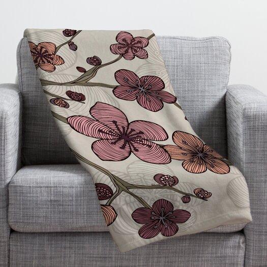 DENY Designs Valentina Ramos Blossom Throw Blanket