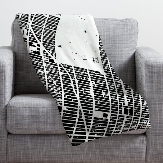 DENY Designs CityFabric Inc NYC Midtown Throw Blanket