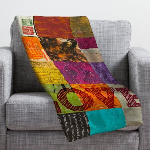 DENY Designs Elizabeth St Hilaire Nelson Love Throw Blanket
