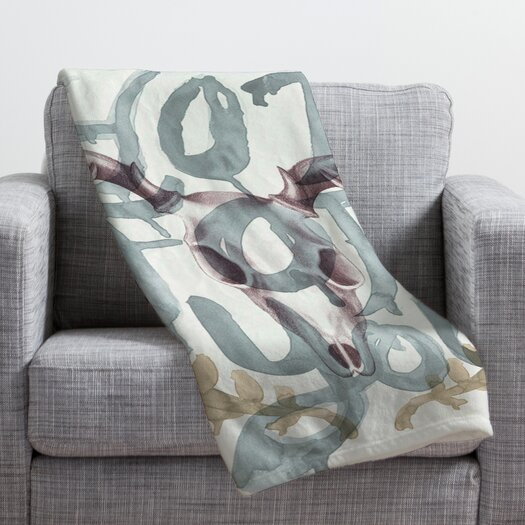 DENY Designs Wesley Bird Hot For You Throw Blanket