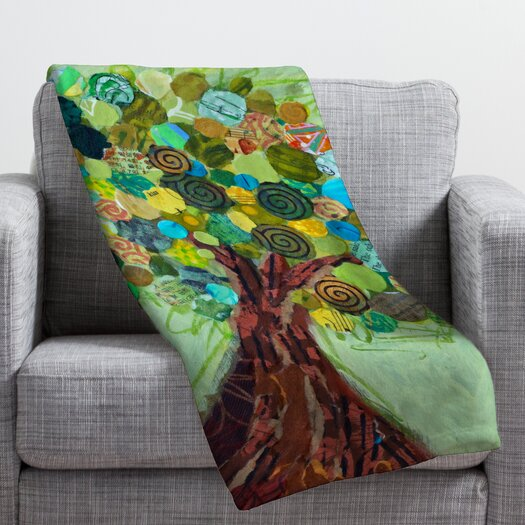 DENY Designs Elizabeth St Hilaire Nelson Spring Tree Throw Blanket