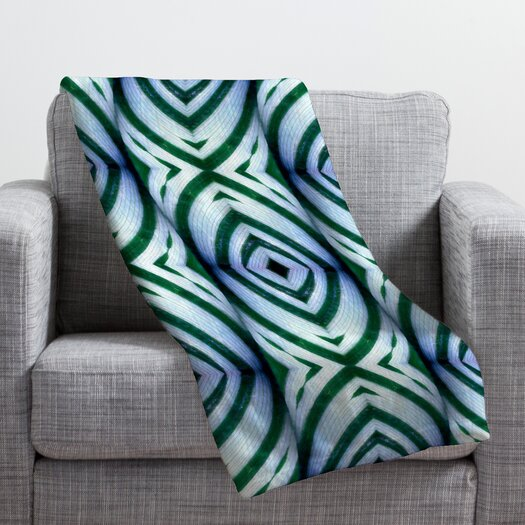 DENY Designs Wagner Campelo Maranta Throw Blanket