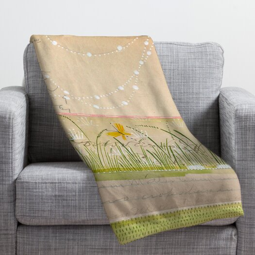 DENY Designs Cori Dantini Horizontal Throw Blanket