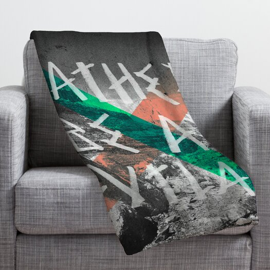 DENY Designs Wesley Bird Rather Be An Outlaw Throw Blanket