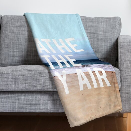 DENY Designs Leah Flores Breathe Throw Blanket