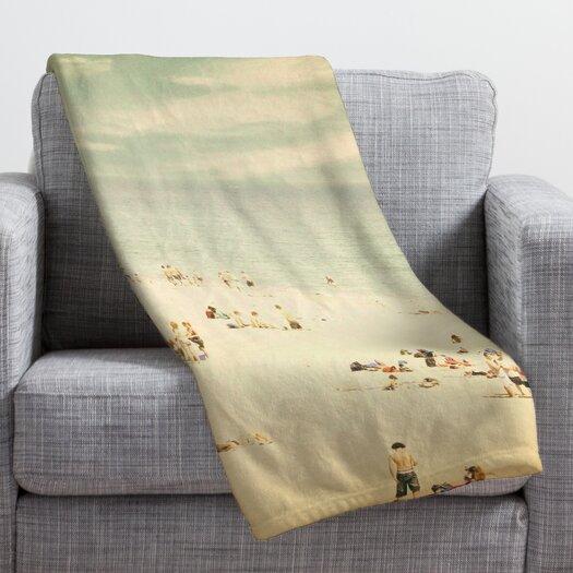 DENY Designs Shannon Clark Vintage Beach Throw Blanket