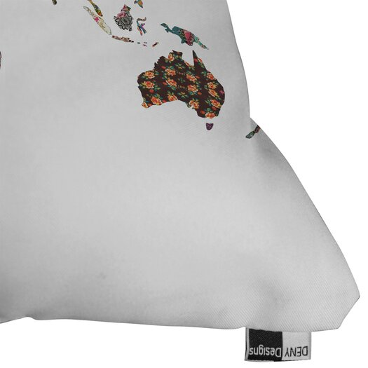 DENY Designs Bianca Green Louis Armstrong Told Us So Throw Pillow