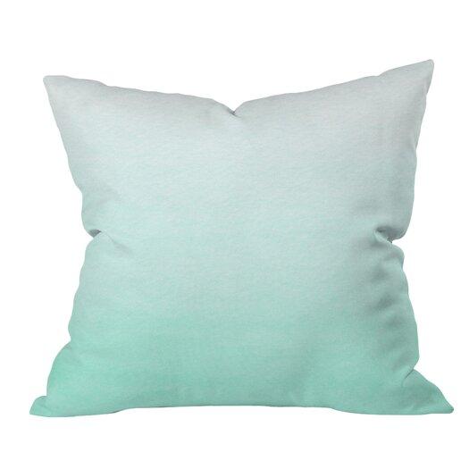 DENY Designs Social Proper Ombre Throw Pillow