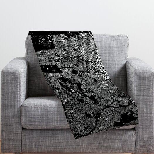DENY Designs CityFabric Inc San Francisco Throw Blanket