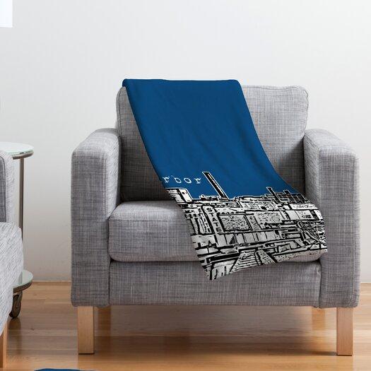 DENY Designs Bird Ave Ann Arbor Throw Blanket