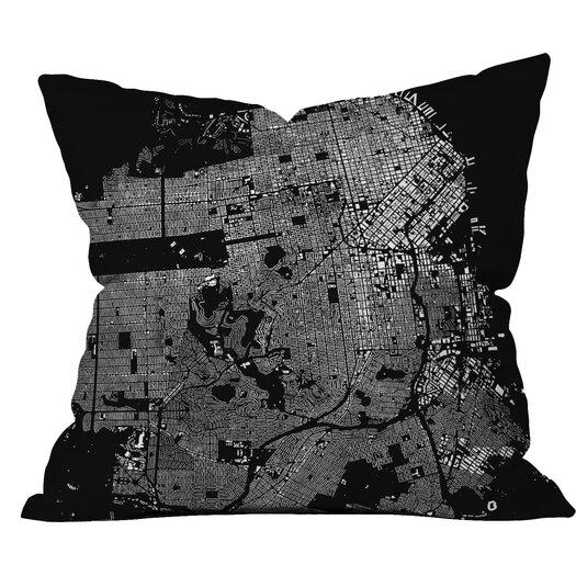 DENY Designs CityFabric Inc San Francisco Throw Pillow