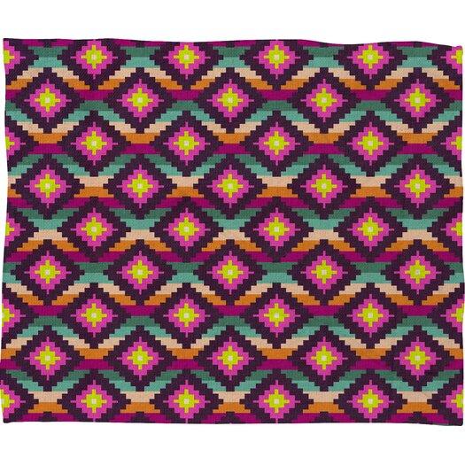 DENY Designs Bianca Green Aztec Diamonds Hammock Throw Blanket