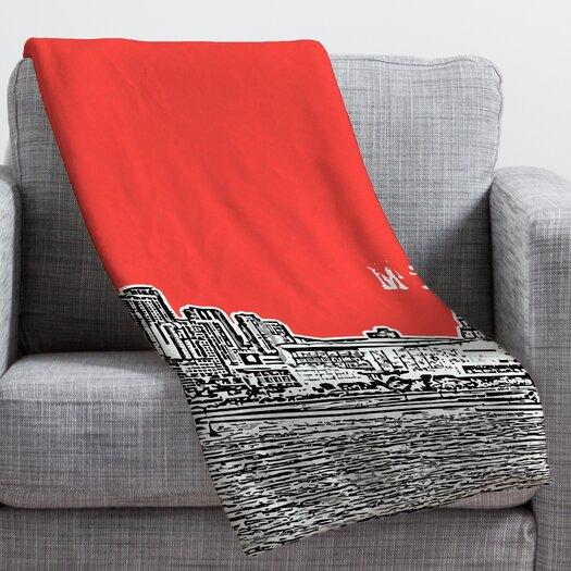 DENY Designs Bird Ave Miami Throw Blanket