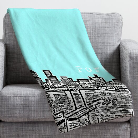 DENY Designs Bird Ave Portland Throw Blanket