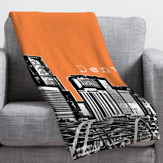 DENY Designs Bird Ave Denver Throw Blanket