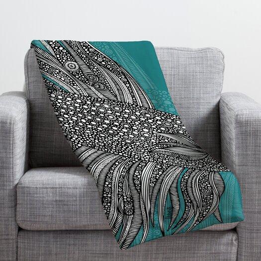 DENY Designs Valentina Ramos Beta Fish Throw Blanket