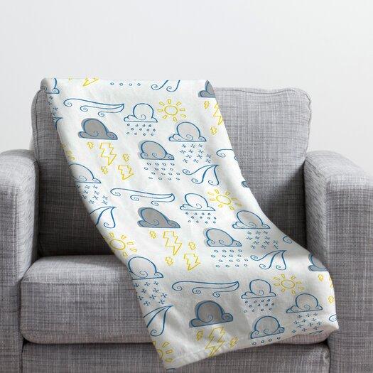 DENY Designs Jennifer Denty Clouds Throw Blanket