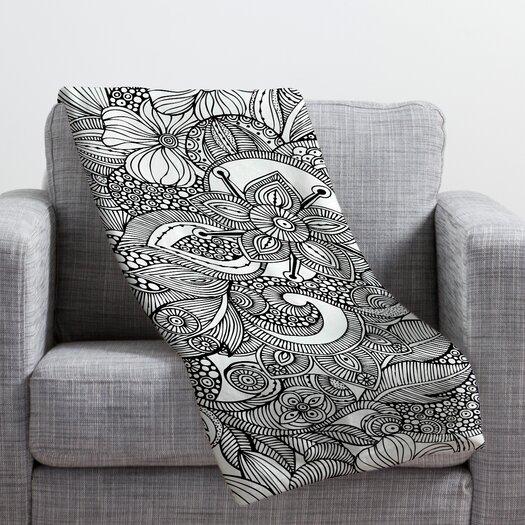 DENY Designs Valentina Ramos Doodles Throw Blanket