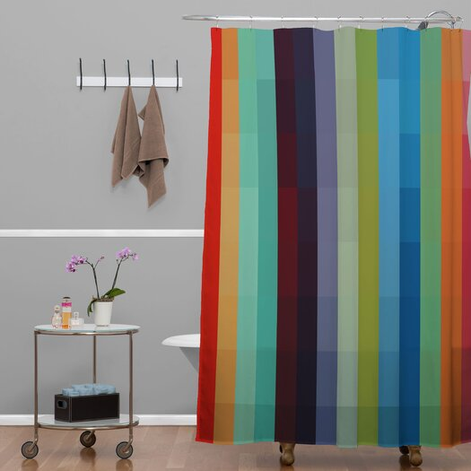 DENY Designs Madart Inc City Colors Shower Curtain