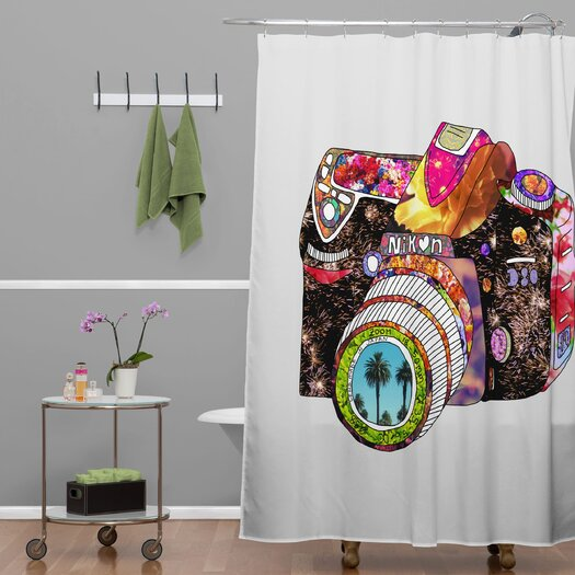 DENY Designs Bianca Green Picture This Shower Curtain
