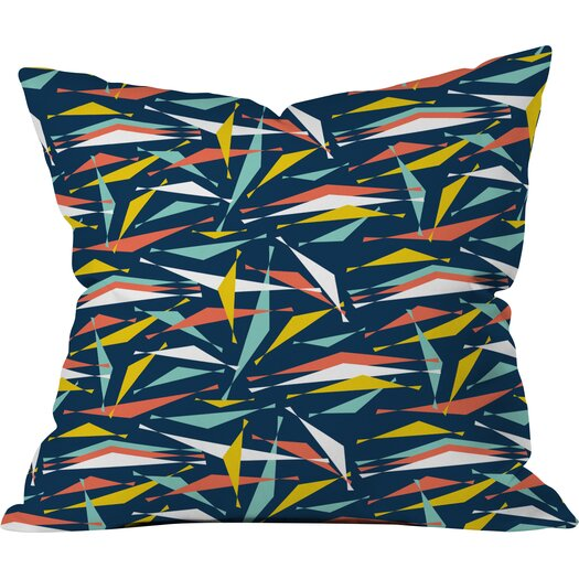 DENY Designs Heather Dutton Swizzlestick Party Girl Indoor Throw Pillow
